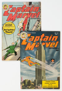 Captain Marvel Adventures #72 and 88 Group (Fawcett Publications, 1947-48).... (Total: 2 )