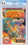 Bronze Age (1970-1979):Superhero, Son of Satan #1 (Marvel, 1975) CGC NM+ 9.6 Off-white pages....