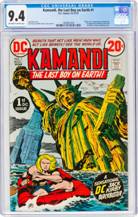 Kamandi, the Last Boy on Earth #1 (DC, 1972) CGC NM 9.4 Off-white to white pages