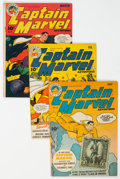Golden Age (1938-1955):Superhero, Captain Marvel Adventures Group of 5 (Fawcett Publications, 1944-45) Condition: Average VG....