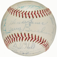1966 Baltimore Orioles - World Series Champs - Team Signed Baseball (28 Signatures)