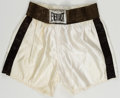 Boxing Collectibles:Autographs, Muhammad Ali Signed Trunks....
