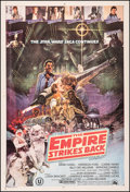 "Movie Posters:Science Fiction, The Empire Strikes Back (20th Century Fox, 1980). Fine/Very Fine on Linen. Indian One Sheet (27.25"" X 40.25"" ). Noriyoshi Oh..."