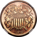 Proof Two Cent Pieces, 1872 2C PR66 Red NGC....