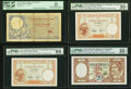 New Caledonia Banque de l'Indochine Circulating Notes from the 1920s