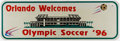 Olympic Collectibles:Autographs, 1996 Olympic Soccer Sign....