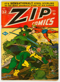 Golden Age (1938-1955):Superhero, Zip Comics #32 (MLJ, 1942) Condition: VG....