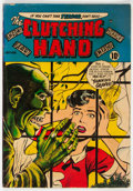Golden Age (1938-1955):Horror, Clutching Hand #1 (ACG, 1954) Condition: VG....