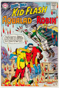 Silver Age (1956-1969):Superhero, The Brave and the Bold #54 Kid Flash, Aqualad, and Robin (DC, 1964) Condition: VF....