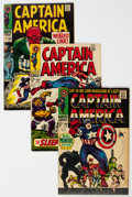 Silver Age (1956-1969):Superhero, Captain America Group of 7 (Marvel, 1968-69).... (Total: 7 Comic Books)