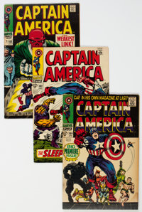 Captain America Group of 7 (Marvel, 1968-69).... (Total: 7 Comic Books)