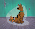 Animation Art:Presentation Cel, Scooby-Doo and Scrappy Doo Publicity...