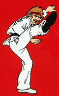 Animation Art:Color Model, Chuck Norris: Karate Kommandos Color Model Cel (Ruby-Spears, 1986)....