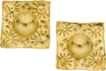 Estate Jewelry:Earrings, Gold Earrings, Jean Mahie. ...