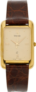 Estate Jewelry:Watches, Swiss Gentleman's Gold Watch, retailed by David Webb. ...