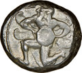 Ancients: CILICIA. Mallus. Ca. 440-385 BC. AR stater (20mm, 3h). NGC VF