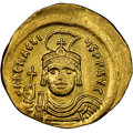 Ancients:Byzantine, Heraclius (AD 610-641). AV solidus (22mm, 4.42 gm, 7h). NG...