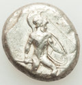 Ancients:Greek, PAMPHYLIA. Aspendus. Ca. mid-5th century BC. AR stater (18...