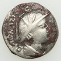 Ancients:India, Ancients: INDIA. Kushan Kingdom. Yueh Chi Rulers of Northwestern Bactria. Sapadbizes (ca. 20 BC-AD 1). BI hemidrachm (...
