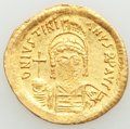 Ancients:Byzantine, Justinian I the Great (AD 527-565). AV solidus (21mm, 4.36...