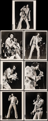 "Elvis on Tour (MGM, 1972). Fine/Very Fine. Photos (21) (8"" X 10""). Elvis Presley. ... (Total: 21 Items)"
