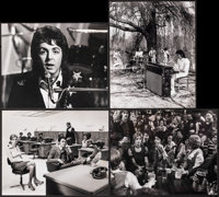"""Paul McCartney & Wings & Other Lot (c. 1970s). Overall: Very Fine-. Photos (15) (8"""" X 10""""). Ro..."""