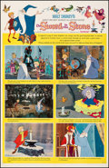 "Movie Posters:Animation, The Sword in the Stone (Buena Vista, 1964). Very Fine- on Linen. One Sheet (27"" X 41.5"") Style B. Animation.. ..."