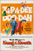 """Movie Posters:Animation, Song of the South (Buena Vista, R-1973). Flat Folded, Very Fine. One Sheet (27"""" X 41""""). Animation.. ..."""
