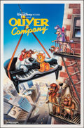 "Movie Posters:Animation, Oliver & Company & Other Lot (Buena Vista, 1988). Rolled, Very Fine+. One Sheets (2) (27"" X 41"") SS, David Willardson Artwor... (Total: 2 Items)"
