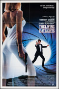 "Movie Posters:James Bond, The Living Daylights (United Artists, 1987). Folded, Very Fine+. One Sheet (27"" X 41"") SS. James Bond.. ..."