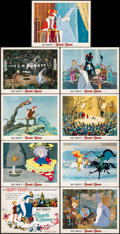 """Movie Posters:Animation, The Sword in the Stone (Buena Vista, 1963). Very Fine. Lobby Card Set of 9 (11"""" X 14""""). Animation.. ... (Total: 9 Items)"""