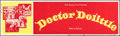 "Movie Posters:Fantasy, Doctor Dolittle (20th Century Fox, 1968). Rolled, Fine+. Silk Screen Banner (82"" X 24""). Fantasy.. ..."