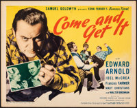 "Come and Get It (United Artists, 1936). Fine+. Title Lobby Card (11"" X 14""). Romance"