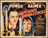 """The Emperor's Candlesticks (MGM, 1937). Fine+. Title Lobby Card (11"""" X 14""""). Romance"""