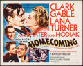 "Movie Posters:Drama, Homecoming (MGM, 1948). Folded, Very Fine-. Half Sheet (22"" X 28"") Style A. Drama.. ..."