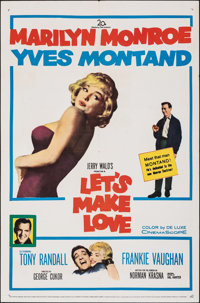"Let's Make Love (20th Century Fox, 1960). Folded, Very Fine-. One Sheet (27"" X 41""). Comedy"