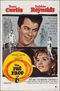 "Movie Posters:Comedy, The Rat Race (Paramount, 1960). Folded, Fine+. One Sheet (27"" X 41""). Comedy.. ..."