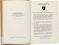 Military & Patriotic:WWII, Dwight D. Eisenhower: A Signed Copy of His Memorable Message to the Allied Expeditionary Force as They Embarked on the Normand...