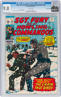 Sgt. Fury and His Howling Commandos #90 Rocky Mountain Pedigree (Marvel, 1971) CGC NM/MT 9.8 White pages