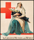 """Movie Posters:Miscellaneous, American Red Cross (c.1917). Fine+. Trimmed Poster (10.25"""" X 11.5"""") """"The Greatest Mother in the World,"""" Alonzo Earl Foringer..."""