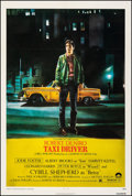 "Movie Posters:Crime, Taxi Driver (Columbia, 1976). Very Fine- on Linen. One Sheet (27"" X 41""). Guy Pellaert Artwork. Crime.. ..."