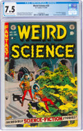 Golden Age (1938-1955):Science Fiction, Weird Science #22 (EC, 1953) CGC VF- 7.5 Off-white to white pages....
