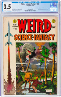 Weird Science-Fantasy #25 (EC, 1954) CGC VG- 3.5 Off-white to white pages