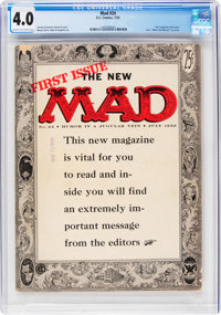 MAD #24 (EC, 1955) CGC VG 4.0 Cream to off-white pages