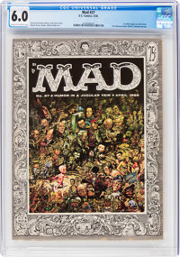 MAD #27 (EC, 1956) CGC FN 6.0 Cream to off-white pages