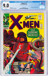 X-Men #16 (Marvel, 1966) CGC VF/NM 9.0 White pages