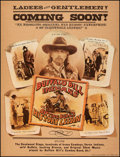 "Movie Posters:Western, Buffalo Bill and the Indians, or Sitting Bull's History Lesson (United Artists, 1976). Very Fine on Linen. Poster (30"" X 40""..."