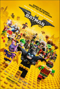 "The Lego Batman Movie (Warner Bros., 2017). Rolled, Very Fine/Near Mint. One Sheet (27"" X 40"") DS Advance. Ani..."