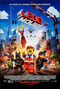 """The Lego Movie (20th Century Fox, 2014). Rolled, Very Fine/Near Mint. One Sheet (27"""" X 40"""") DS Advance. Animat..."""