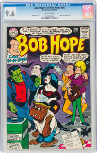 The Adventures of Bob Hope #95 (DC, 1965) CGC NM+ 9.6 Off-white pages